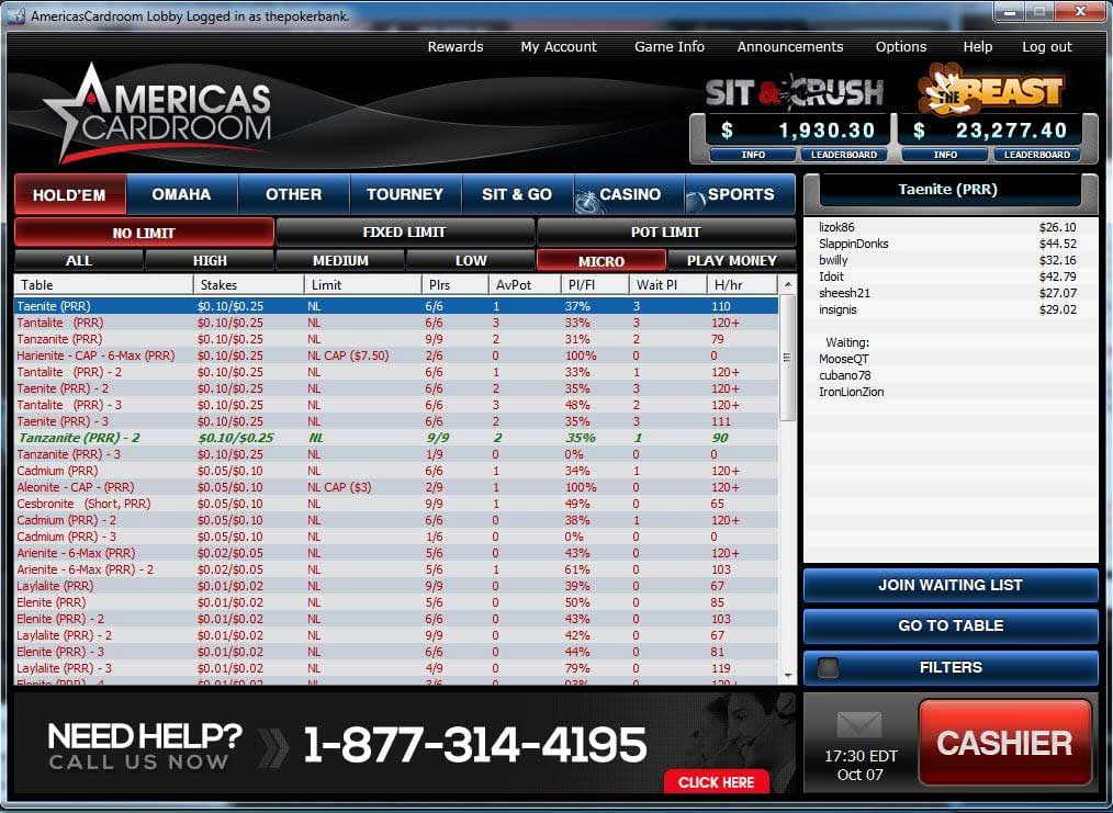 Americas Cardroom Tested Amp Reviewed Legallity Elite