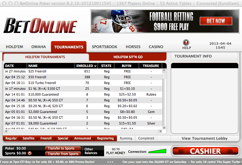 BetOnline's Poker Room | Tested, Reviewed & Rated by Experts