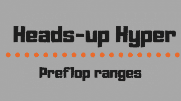 Heads-up Hyper preflop ranges