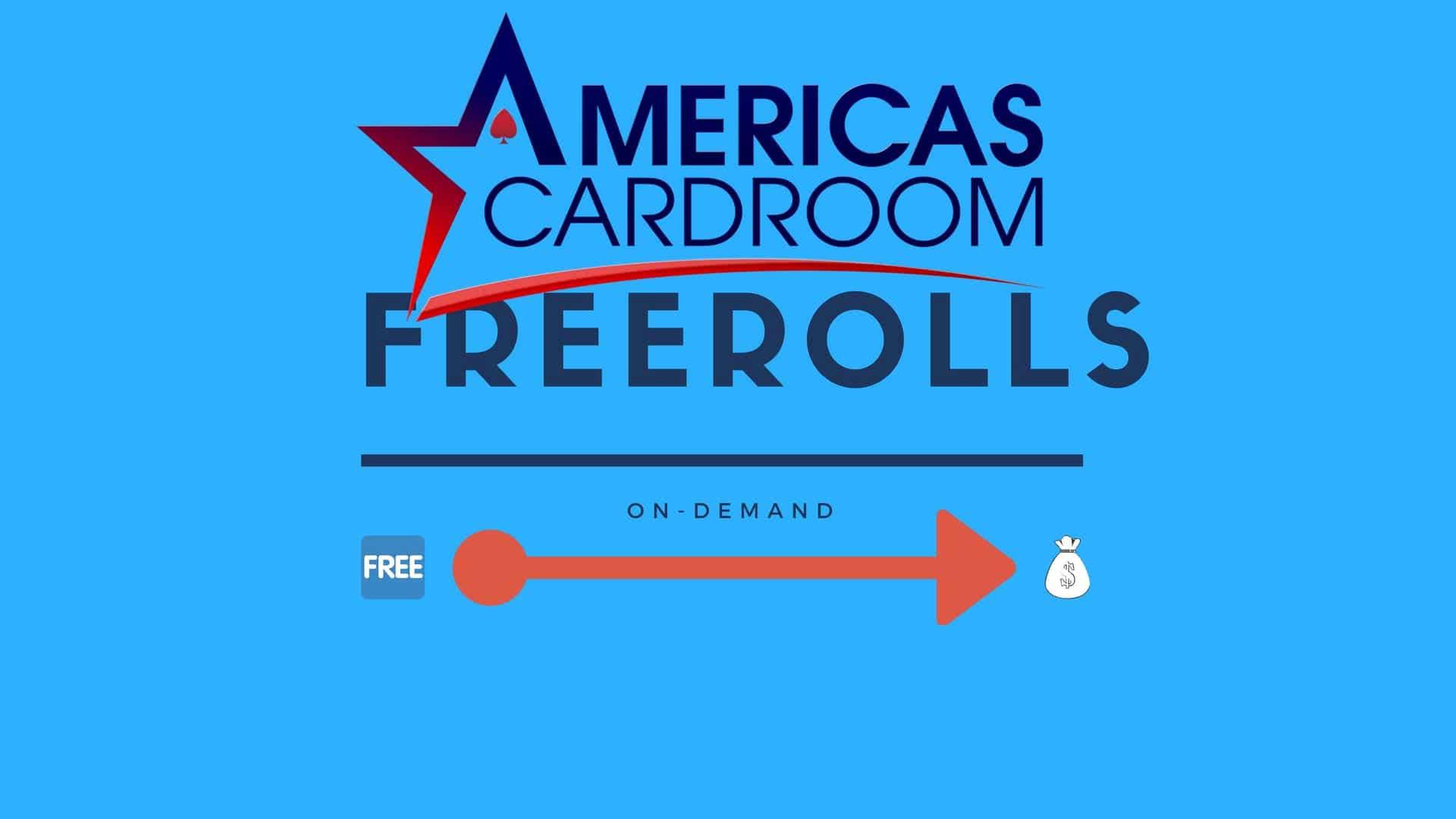 Americas Cardroom freerolls