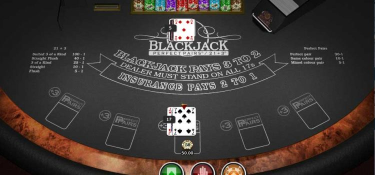 Blackjack 21 Plus 3